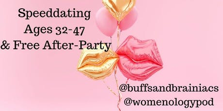 Speeddating Party for Boston Singles 32-47 Includes Free Afterparty tickets
