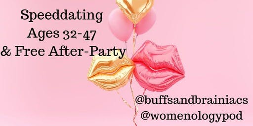 Speeddating Party for Boston Singles 32-47 Includes Free Afterparty