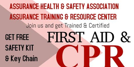 ASSURANCE HEALTH & SAFETY ASSOCIATION - CPR TRAINING SERVICES tickets