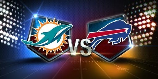 NFL Viewing Party at the TIKI BAR: DOLPHINS vs BILLS