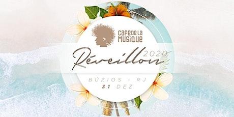 Réveillon Cafe de La Musique 2020 @Búzios ingressos