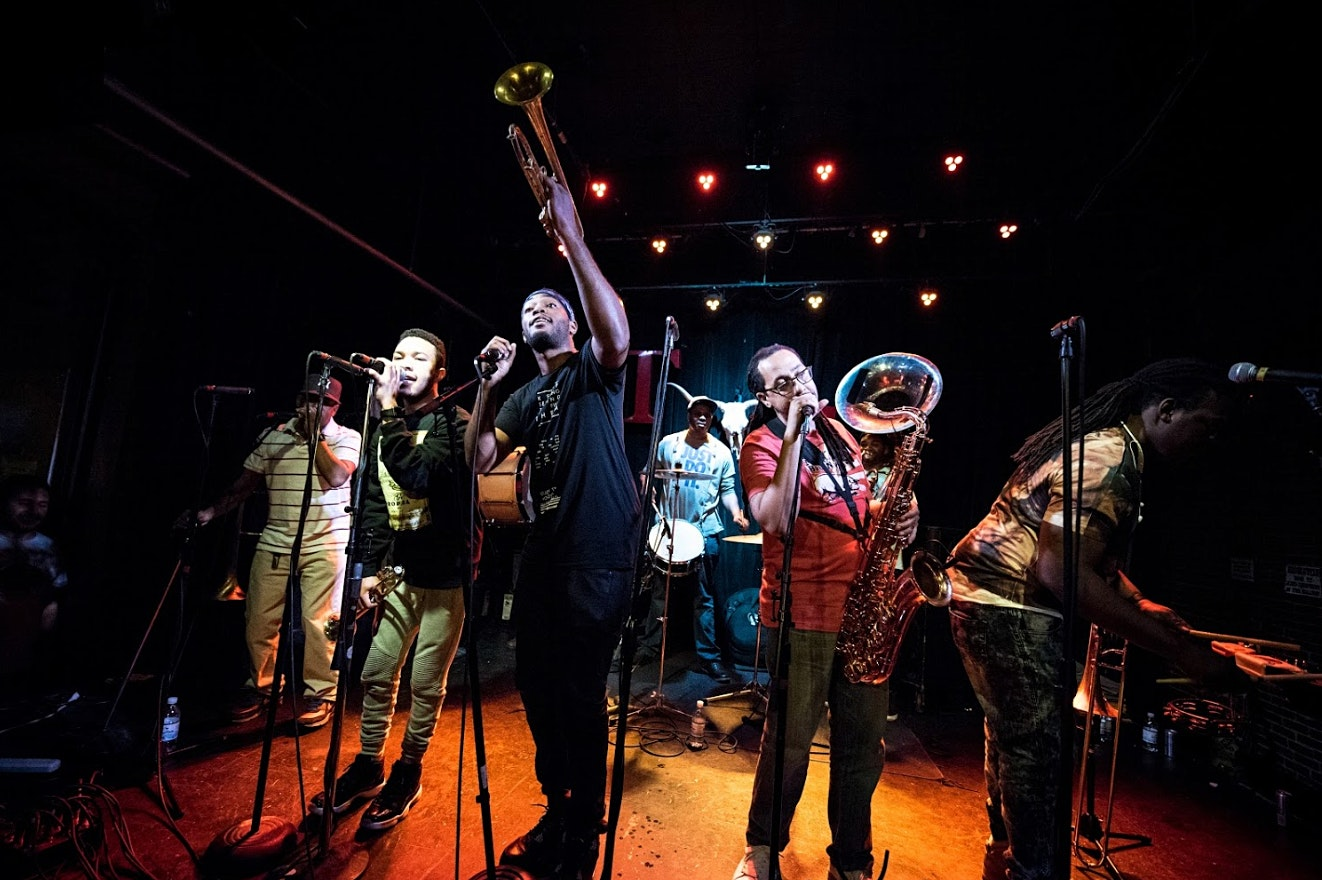 Rebirth Brass Band with Bassel & The Supernaturals
