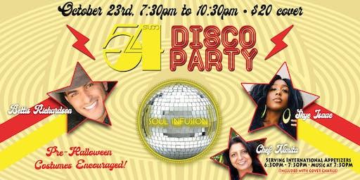 Studio 54 Disco Party!