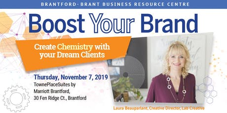 Boost Your Brand tickets