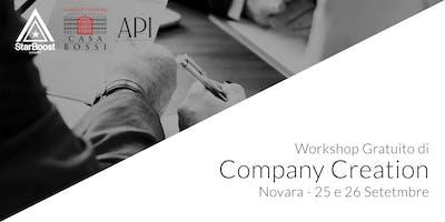 Novara, Workshop StarBoost: Trasforma la tua idea in un'azienda di successo