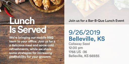 Exclusive Bar-B-Que Lunch Event - Belleville, KS