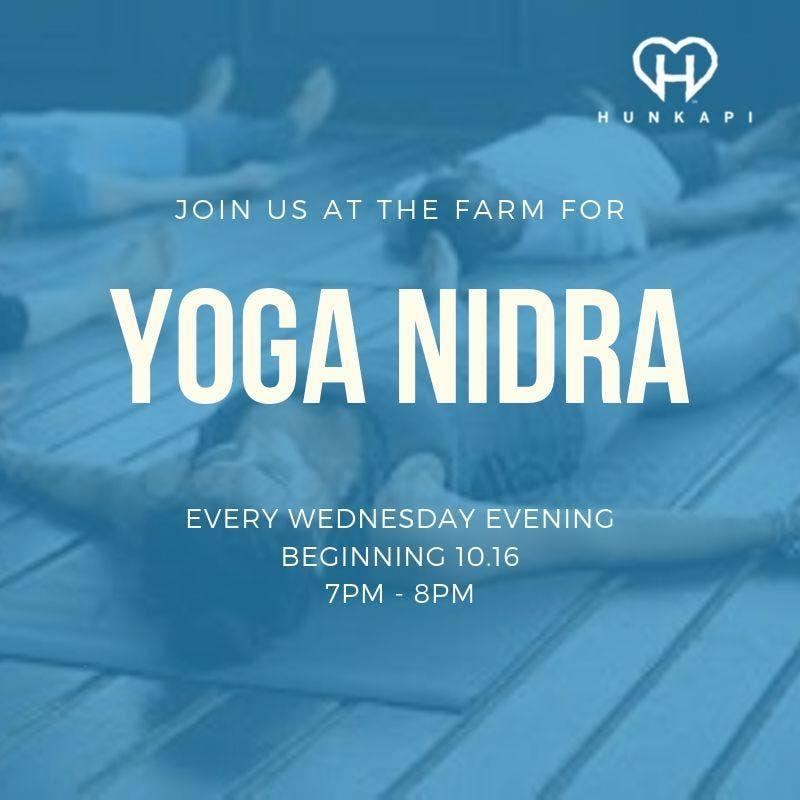 Yoga Nidra at the Farm