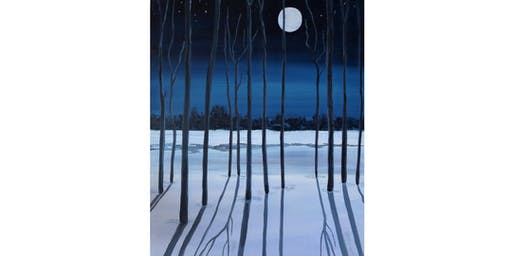 Moon-shadow and Snow