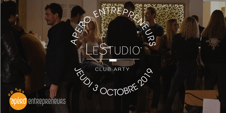 Apéro Entrepreneurs Paris @ LeStudio | Jeudi 3 octobre 2019 tickets