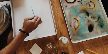 Paper Marbling Workshop at Domain  tickets