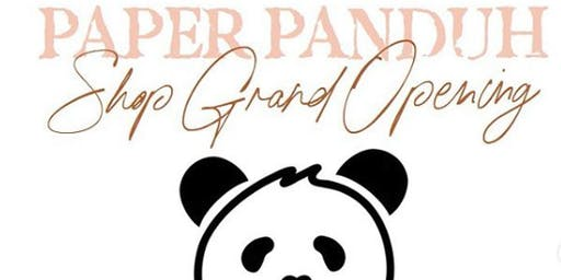 Paper Panduh Shop Grand Opening