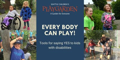 """Tools for Saying """"Yes"""" to Kids with Disabilities (11/15)"""