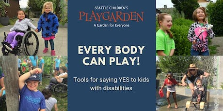 "Tools for Saying ""Yes"" to Kids with Disabilities (11/15)  tickets"