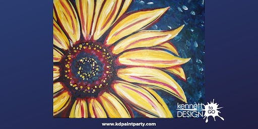Colorful Sunflower - Paint & Sip