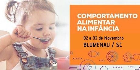 Curso Comportamento Alimentar na Infância ingressos