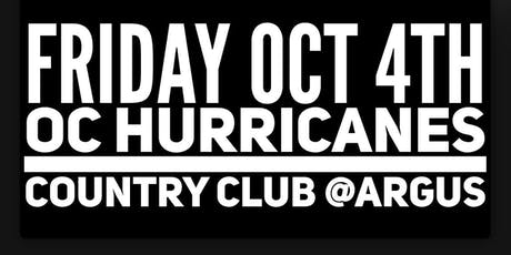 OC Hurricanes// Country Club// DJ King Tommy tickets