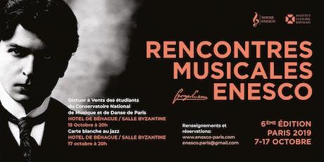 Rencontres Musicales Enesco billets