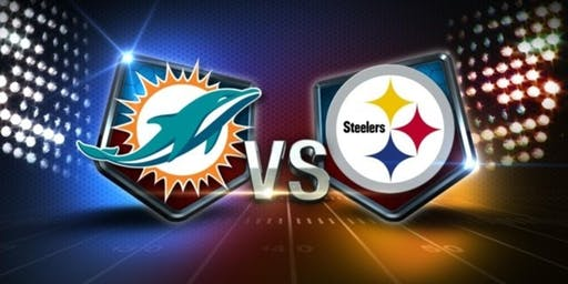 NFL Viewing Party at the TIKI BAR: DOLPHINS vs STEELERS
