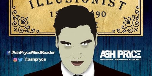 Ash Pryce - Paranormal Illusionist - Teesside Skeptics In The Pub