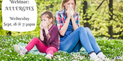 Webinar: Allergies