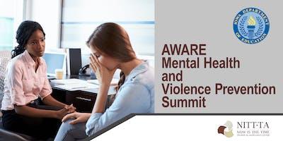 AWARE Mental Health & Violence Prevention Summit