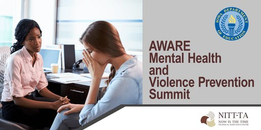 AWARE Mental Health & Violence Prevention Summit