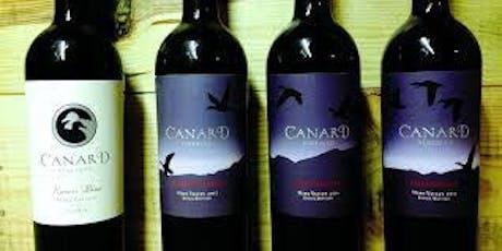 Canard Winery Wine Dinner tickets