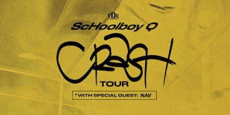 TDE Presents ScHoolboy Q: CrasH Tour witH Special Guest NAV tickets