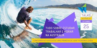 WEST 1 TALK | Tudo Sobre Estudar e Trabalhar na Austrália