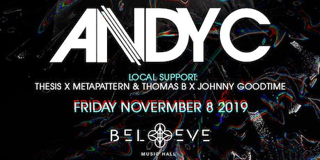 Andy C | IRIS ESP101 Learn to Believe | Friday November 8 tickets