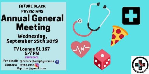 Future Black Physicians: AGM