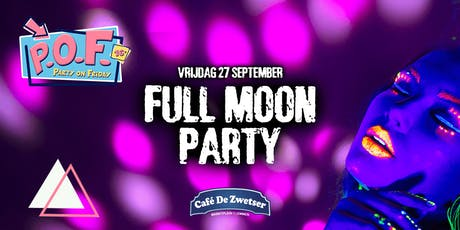 PARTY ON FRIDAY x FULL MOON (16+) tickets