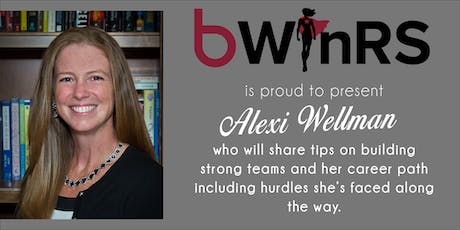 Alexi Wellman - b WInRS tickets