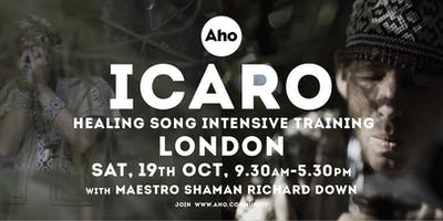Icaro Healing Song Training in London with Richard Down.