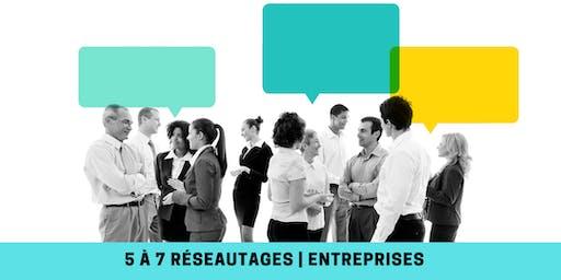 5 à 7 Réseautages | Entreprises