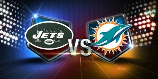 NFL Viewing Party at the TIKI BAR: JETS vs DOLPHINS