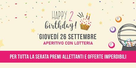 Aperitivo Happy 2 Birthday Equilibrio Body Solution Brescia tickets