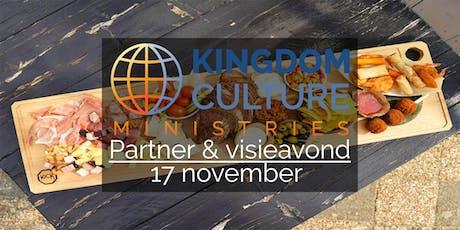 Partner & visieavond Kingdom Culture Ministries tickets