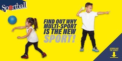 Sportball Free Trial: Oakridge: 6-9 yr old drop off class