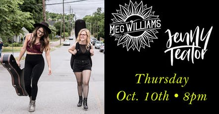 Meg Williams + Jenny Teator tickets