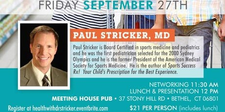 Prevention Plus - Take Healthy Back health talk with Dr. Paul Stricker tickets