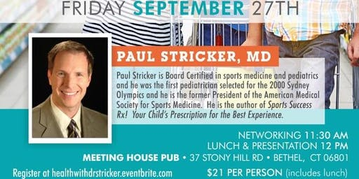Prevention Plus - Take Healthy Back health talk with Dr. Paul Stricker