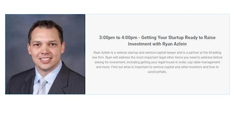 Getting Your Startup Ready to Raise Investment with Ryan Azlein tickets