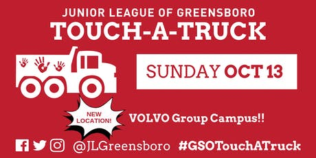 The Junior League of Greensboro's 10th Annual  Touch-A-Truck tickets