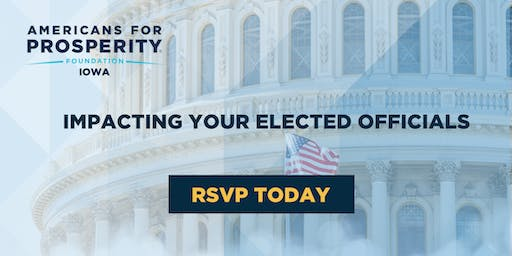 AFP Foundation IA: Impacting Your Elected Officials - Waterloo
