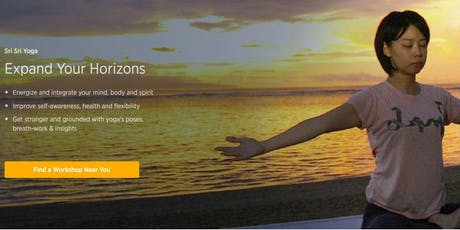 Sri Sri Yoga Sessions tickets