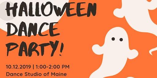 Dance Studio of Maine Halloween Party