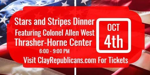 Stars & Stripes Dinner with Allen West