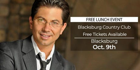 (FREE) Millionaire Success Habits revealed in Blacksburg by Dean Graziosi tickets