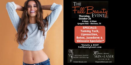 Fall Beauty Event - Regional Plastic Surgery Ctr / Regional Skin & Laser Ctr 2019 tickets
